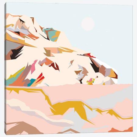 Colorful Mountain Canvas Print #RLE19} by Merle Callesen Canvas Art Print