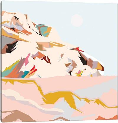 Colorful Mountain Canvas Art Print
