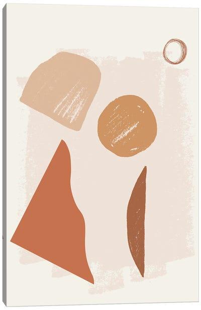 Contemporary Shapes Canvas Art Print