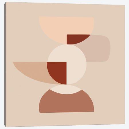 Cut Volumes Abstract Arts Canvas Print #RLE27} by Merle Callesen Art Print