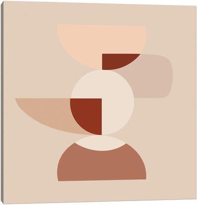 Cut Volumes Abstract Arts Canvas Art Print