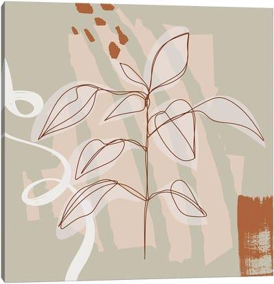 Existence Minimalism Canvas Art Print