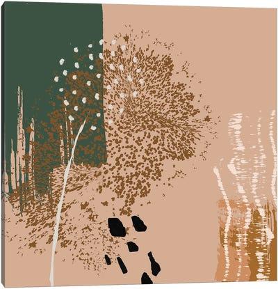 Abstract Digital Painting Canvas Art Print