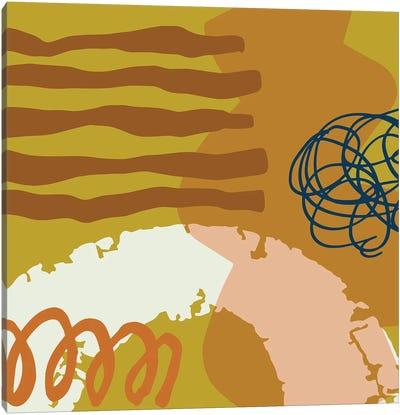 Abstract Geometric Shapes II Canvas Art Print