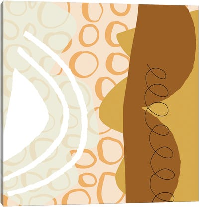 Abstract Geometric Shapes Canvas Art Print