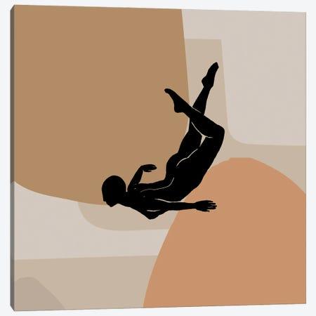Free Fall Illustration Minimal Canvas Print #RLE44} by Merle Callesen Canvas Print