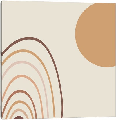 Greeting The Sun Abstracts Canvas Art Print