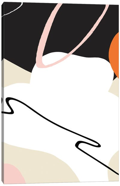 Abstract Shape Design Canvas Art Print