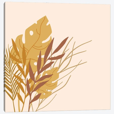 Minimalistic Nature Canvas Print #RLE76} by Merle Callesen Canvas Wall Art