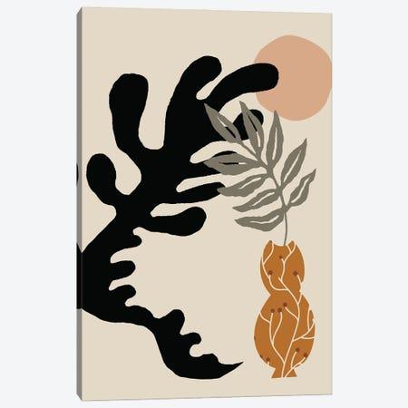 Modern Abstract Shape Vase Canvas Print #RLE78} by Merle Callesen Art Print