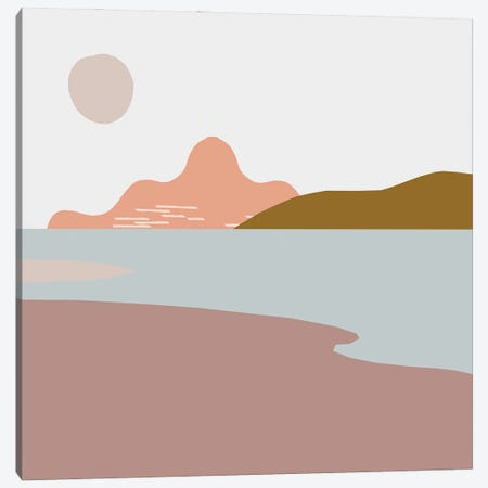 Mountain View Canvas Print #RLE84} by Merle Callesen Art Print