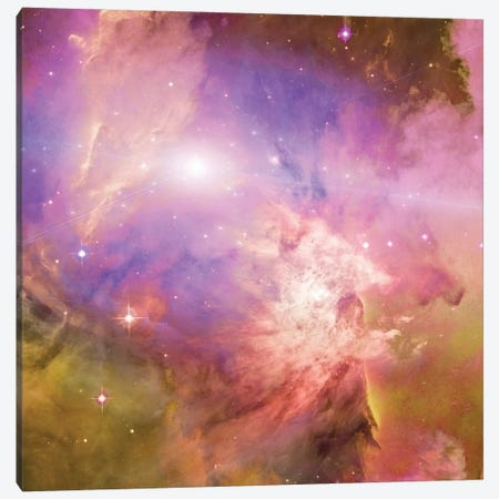 3D Rendering Of Vivid Nebula In Galactic Space Canvas Print #RLF15} by Bruce Rolff Canvas Print