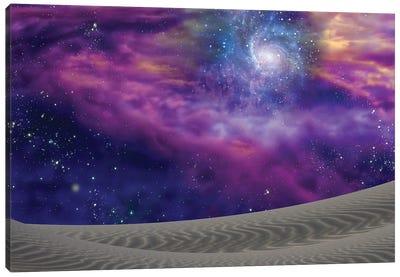 Cosmic Landscape Canvas Art Print