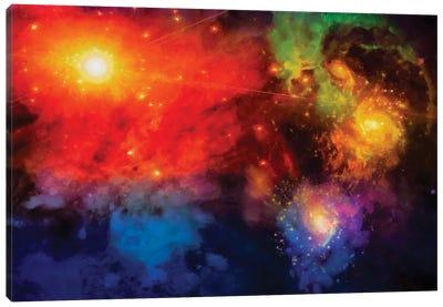 Deep Space Painting Canvas Art Print