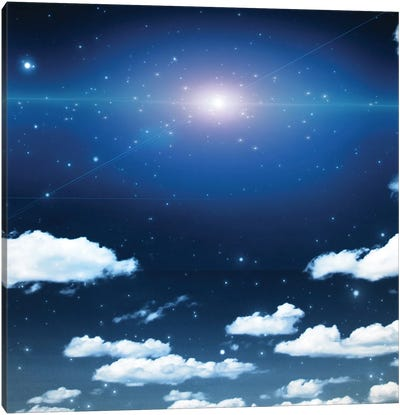 Bright Star Canvas Art Print