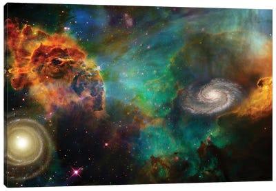 Deep Space Composition Canvas Art Print