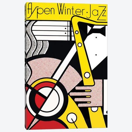 Aspen Winter Jazz, 1967 Canvas Print #RLI1} by Roy Lichtenstein Canvas Wall Art