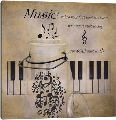 Music Canvas Art Print