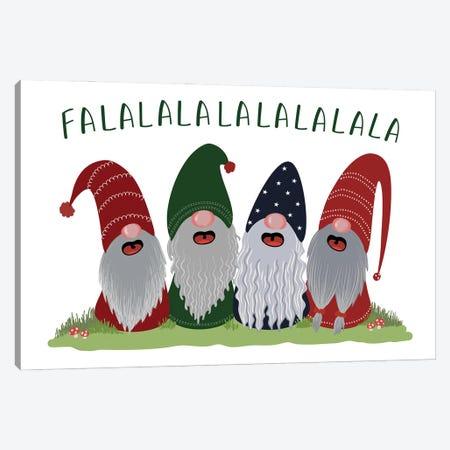 Holiday Gnomes Canvas Print #RLZ101} by blursbyai Canvas Art