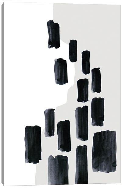 Abstract Bars Canvas Art Print