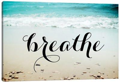 Breathe The Salty Air Canvas Art Print
