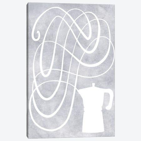 Smell Of Coffee Canvas Print #RLZ336} by blursbyai Canvas Artwork