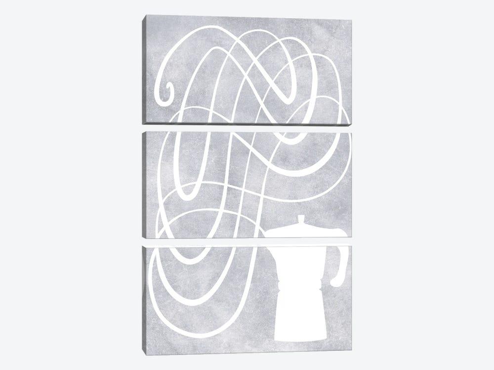 Smell Of Coffee by blursbyai 3-piece Canvas Art Print