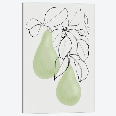 Wen Pears Canvas Print #RLZ338} by blursbyai Canvas Art Print