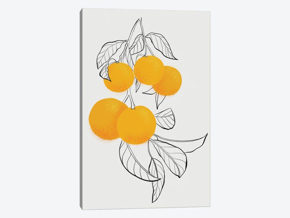 Mabel Oranges by blursbyai 1-piece Canvas Artwork