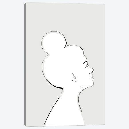 Sanyu Portrait Canvas Print #RLZ346} by blursbyai Canvas Print