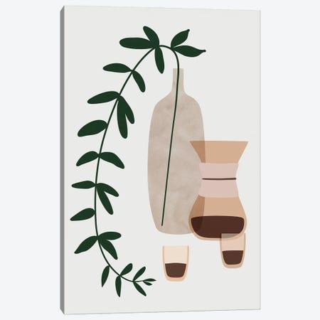 Boho Coffee For Two Canvas Print #RLZ347} by blursbyai Canvas Print