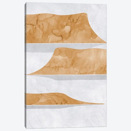 Abstract Lake Powell View Canvas Print #RLZ350} by blursbyai Canvas Art Print