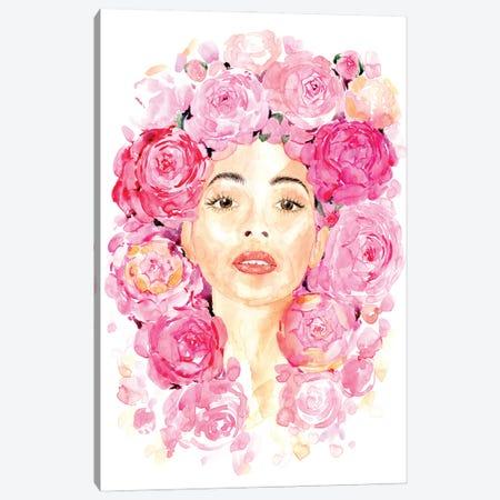 Lesley Canvas Print #RLZ411} by blursbyai Canvas Wall Art