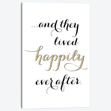 Happily Ever After Canvas Print #RLZ59} by blursbyai Canvas Artwork