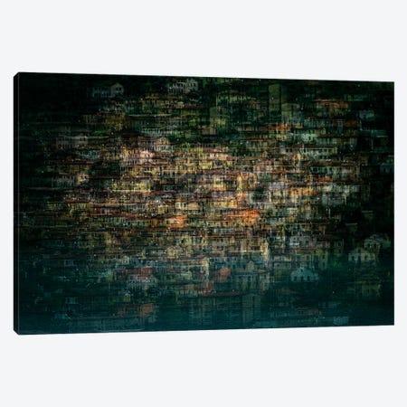 multi house Canvas Print #RMA1} by Roberto Marini Canvas Print
