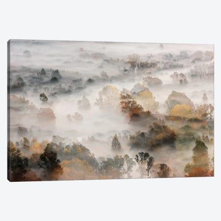 Autumns 3-Piece Canvas #RMA2} by Roberto Marini Canvas Art Print