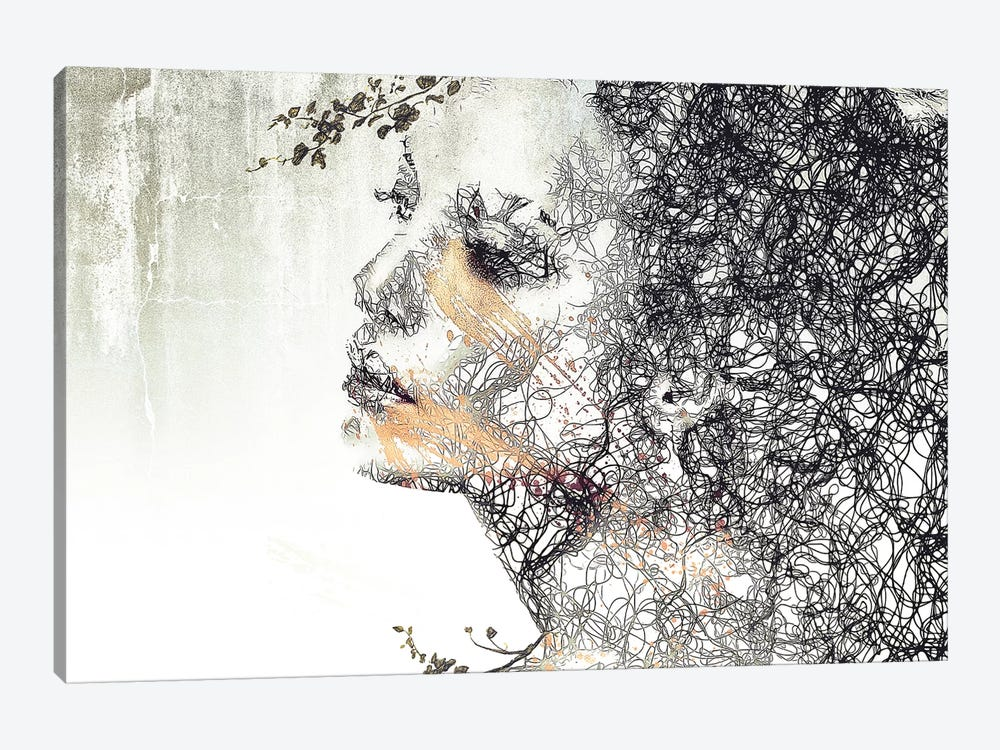Evolution by Romain Bonnet 1-piece Canvas Artwork