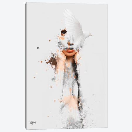 Les Conflits De Ma Pensee Canvas Print #RMB13} by Romain Bonnet Canvas Art Print