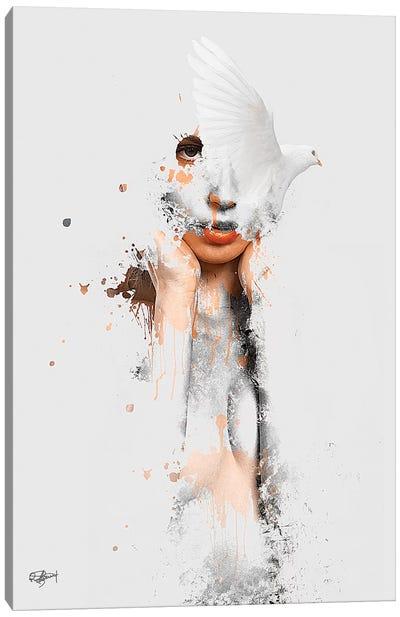 Les Conflits De Ma Pensee Canvas Art Print