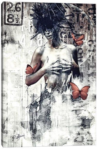 Loin Des Quartiers Branches Canvas Art Print