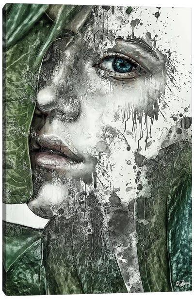Mon Coeur A Deja Pris La Fuite Canvas Art Print