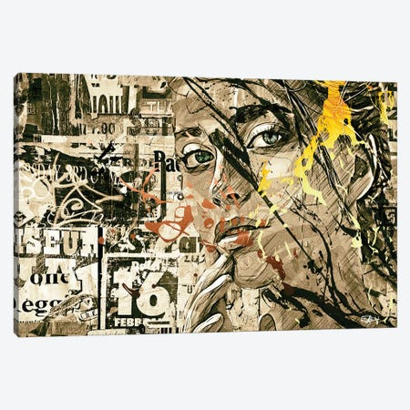 Attirance Canvas Print #RMB1} by Romain Bonnet Canvas Artwork