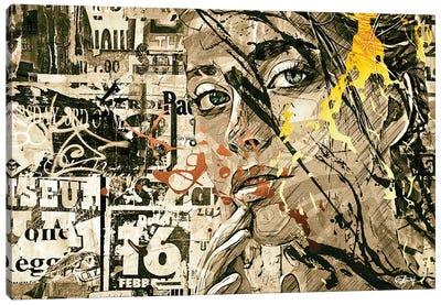Attirance Canvas Art Print