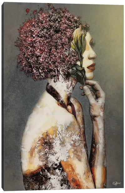 Une Caresse De La Nature Canvas Art Print