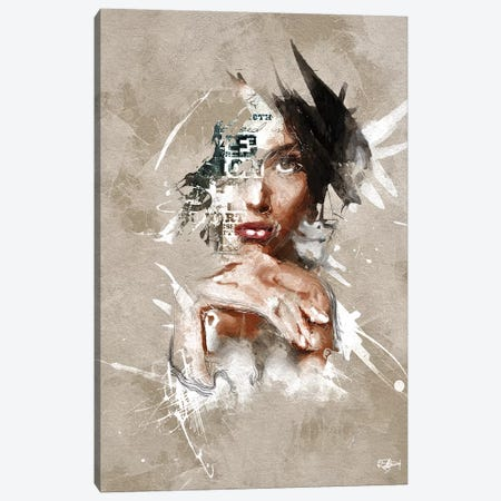 S'affirmer Canvas Print #RMB31} by Romain Bonnet Canvas Print