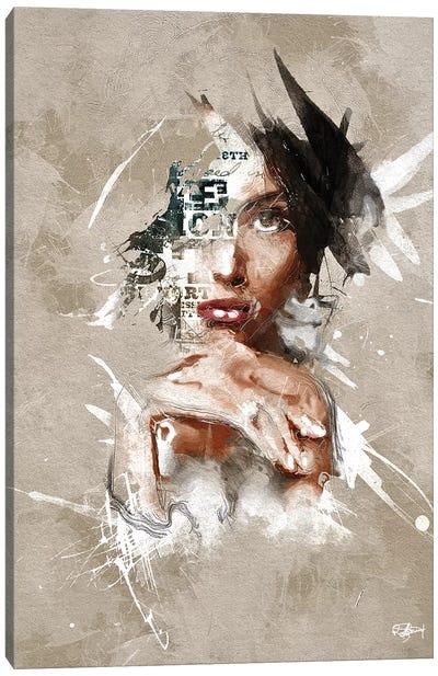 S'affirmer Canvas Art Print