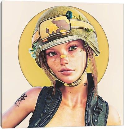 Erika Canvas Art Print