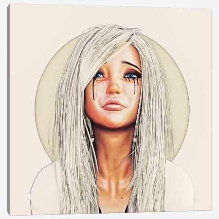 Aika Canvas Print #RMB39} by Romain Bonnet Art Print