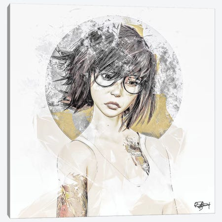 Attitude Canvas Print #RMB47} by Romain Bonnet Art Print