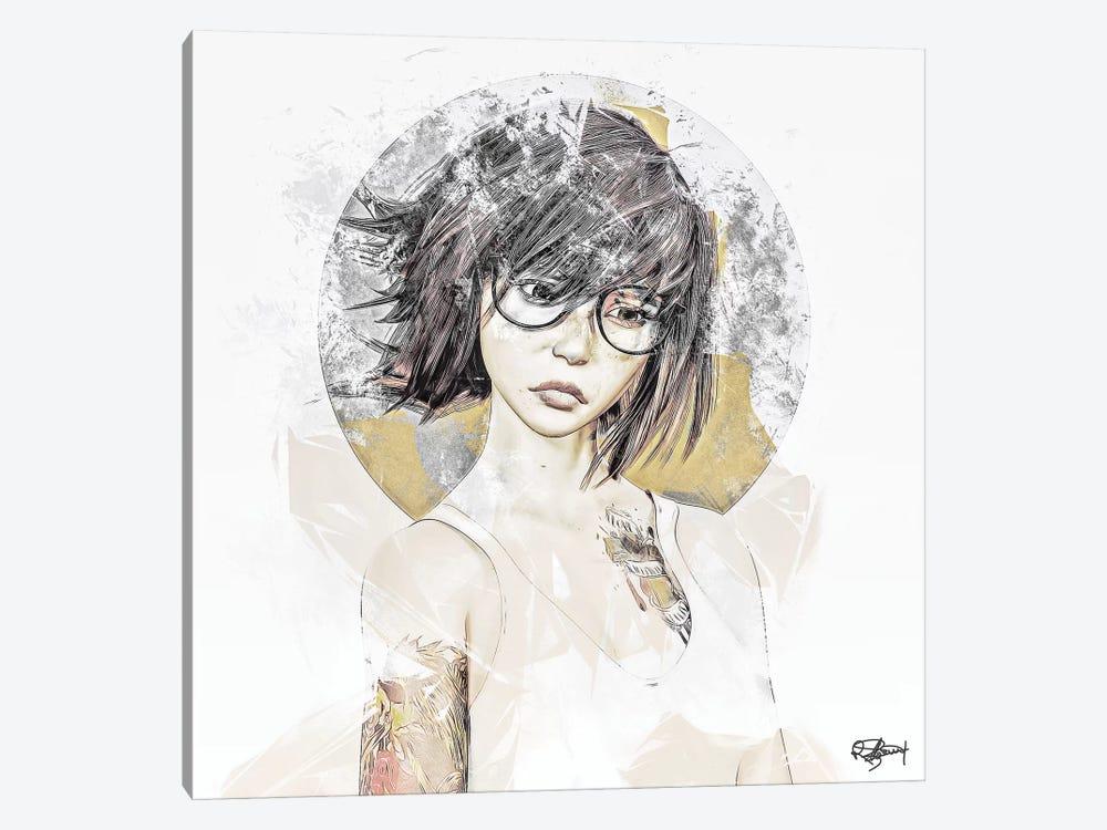Attitude by Romain Bonnet 1-piece Canvas Art